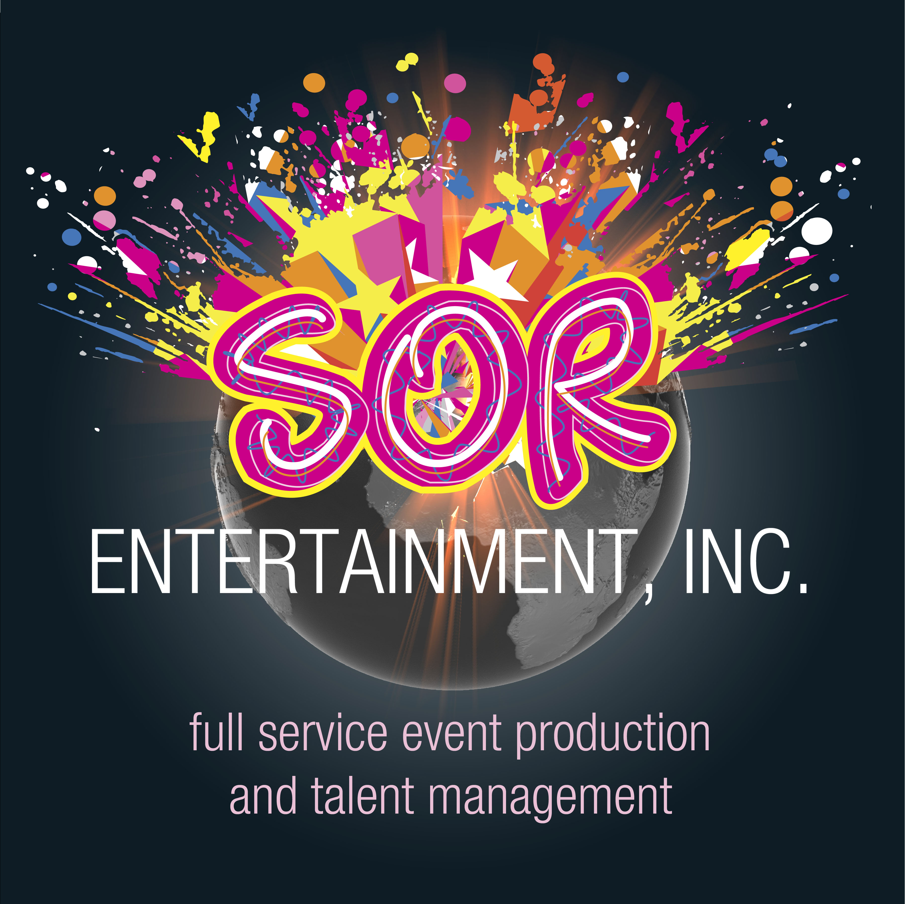 Sor Entertainment, Inc Sor Is A Full Service Event Production And  Managementpany For 25 Years, Sor Has Developed The Reputation,  Knowledge And